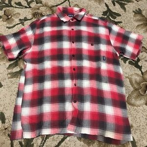 Patagonia Flannel Short Sleeve Button Down